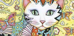 Gatos, o livro de colorir da Record