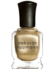 Gold Tips: Upgrade the French manicure with Deborah Lippmann polish in Nefertiti, $16