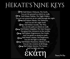 Hekate Magick Modern Hekatean Witchcraft: Using Epithets To Take Your Practice Deeper