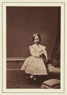 Princess Charlotte of Prussia, 1865 [in Portraits of Royal Children Vol.9 1865] | Royal Collection Trust