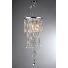 Cascading Crystal Chandelier | Overstock.com Shopping - Great Deals on Warehouse of Tiffany Chandeliers & Pendants
