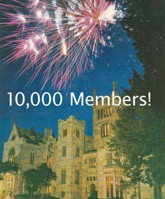 Mansions of the Gilded Age on facebook reached 10,000 members.