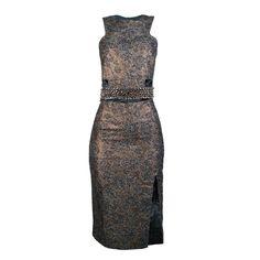 MacroFashion - Vestido Cropped Cinto de Spikes Wagner Kallieno