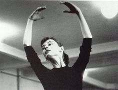 """Audrey Hepburn studied ballet at Arnhem Conservatory in Holland  during the war (1939-45). She danced secretly for groups raising money for the Dutch resistance. She said that the best audience she ever had """"made not a single sound at the end of my performances."""" After lessons with Sophia Gaskell in Amsterdam, Audrey moved to London and studied with Marie Rambert - who thought she'd have a great career if not for her height (5' 7"""") and poor nutrition during the years of hunger in occupied…"""