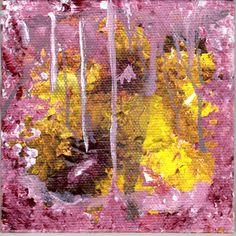 Gluttony, Art366, #67, #Acrylic #Abstract #Painting #Gluttony #SevenDeadlySins