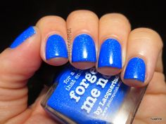 Tuxarina: Picture Polish: Forget Me Not