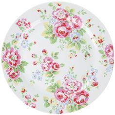 shabby chic plate!