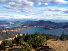 Lake Shasta boating in Redding, California. It is the number 1 sunniest place all year round believe it or not.