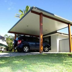 Carport Carport attached Carport car ports Carport designs Carport diy Carport front of house Carport garage Carport ideas Carport modern freestanding carport Diy Pergola, Gazebo, Corner Pergola, Cheap Pergola, Deck With Pergola, Attached Pergola, Pergola Ideas, Carport Canopy, Carport Kits