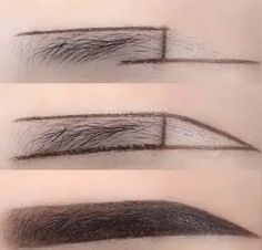 How to Paint Eyebrow Makeup Correctly Eyebrow Game, Eyebrow Makeup Tips, Makeup Videos, Beauty Makeup, Eye Makeup, Hair Makeup, Makeup Inspo, Makeup Inspiration, Eyebrow Tutorial