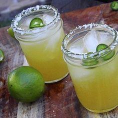 Margarita el Fuego - Cool off with this spicy summer beverage.