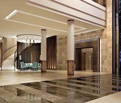 Image 4 Columns Decor, Interior Columns, Lobby Interior, Pillar Design, Hotel Concept, Column Design, Lounge Design, Hotel Interiors, Home Room Design