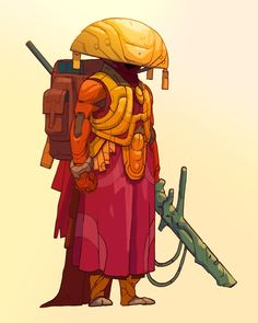 """Manga Drawing Patterns poolsofchrome: """"Speargun, patterned armor and panoptic helm """" - Character Creation, Character Concept, Character Art, Concept Art, Sci Fi Characters, Character Design References, Creature Design, Game Art, Character Inspiration"""