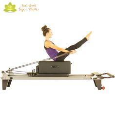 teaser pilates reformer exercise 3