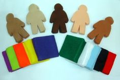 Multicultural Felt People Kit | Make Your Own Felt People