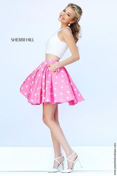 Fun in Pink with White Poka Dots 2