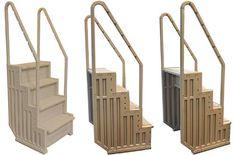 Best Above Ground Pool Ladders & Pool Steps Above Ground Pool Ladders, Best Above Ground Pool, Above Ground Swimming Pools, In Ground Pools, Inground Pool Ladder, Swimming Pool Ladders, Submersible Well Pump, Pool Steps, Cool Pools