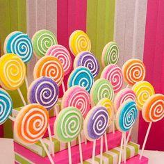 Lovely Lollipop Cookies