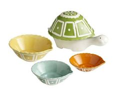 Decorative Measuring Cups | These Ceramic Turtle Measuring Cups are Sure to Get You Out of Your ...