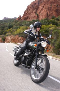 triumph motorcycle women rides - Google Search