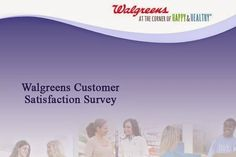 Good News for frequent visitor of Walgreen Store…Now they can win $3000 cash prize for free shopping just by sharing their experience with Walgreen. #Survey #Sweepstakes
