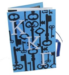 Kappa Kappa Gamma accordion scrapbook made using supplies and stencils from DIYGreek.com. Can be stood up to display. So easy and cute.