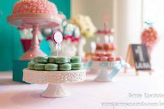 Festa azul Tiffany e rosa   Macetes de Mãe Festa Party, Place Cards, Place Card Holders, Vintage, Tiffany Blue Party, Blue Roses, Kids Part, Main Idea, Gifts
