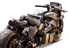 Twintrax, a moto com 2 motores Harley-Davidson