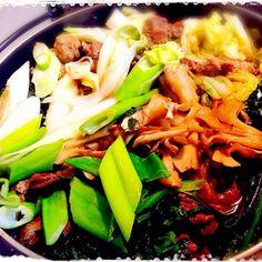 大人用に猪肉と鹿肉のすき焼き♪ - 30件のもぐもぐ - 牡丹と椛のすき焼き♪ by hanohano
