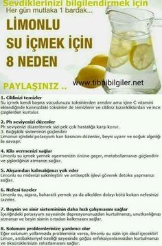 Limonlu su içmek için 8 neden, Zeyt… 8 reasons to drink lemon water, is that, # Handles zeytinyağlıyeFoods with Olive Oil, Health And Beauty, Health And Wellness, Health Tips, Health Fitness, Oral Health, Health Care, Lemon Juice Benefits, Alternative Medicine, Herbalife