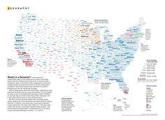 Mina Liu and Oliver Uberti for National Geographic examine the most common surnames across the country: What's in a Surname? A new view of the United States based on the distribution of commo…