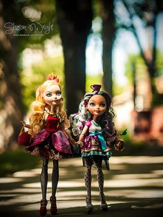 Ever After High Apple & Maddie taking a stroll | Flickr - Photo Sharing!