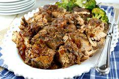 The Best Crock Pot Pork Tenderloin - Gonna Want Seconds