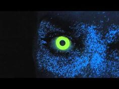 Funky Eyes Yellow UV Contact Lenses | Funky Eyes Contact Lenses