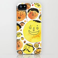 Orange People iPhone & iPod Case by ARTION