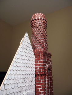 Chimney from start to finish (well, 99% done)