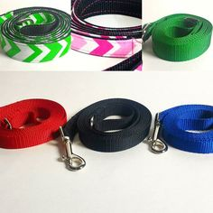 Leashes and more Leashes. by amyscollarsandmore Dog Leash, Personalized Items, Dogs, Instagram Posts, Doggies, Dog