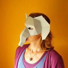 Elephant Half Mask - Wintercroft  - 1