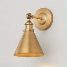 Looking for an adjustable wall light fixture that smoothly directs its light in your desired line of sight? Our Adjustable Study Wall Sconce fits the bill. The vintage shape with its classic cone shade will be a fashionable addition to your bedside, reading nook, or home office. Contemporary Wall Lights, Modern Wall Lights, Modern Wall Sconces, Modern Contemporary, Vintage Wall Sconces, Swing Arm Wall Lamps, Wall Sconce Lighting, Kitchen Lighting, House Lighting