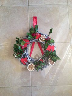Wreath with limes