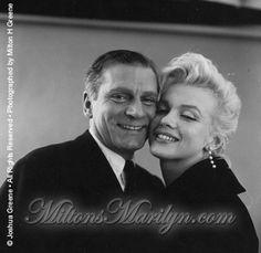 9/02/1956 Marilyn, Olivier, Rattigan - par Milton - Divine Marilyn Monroe