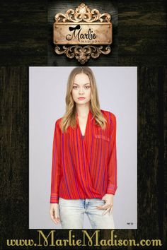 The Chloe Top http://www.marliemadison.com/tops