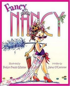 Any Fancy Nancy book is a great tool for teaching interesting word choice and expanding students' vocabulary. Kids love her and her quirky ways!