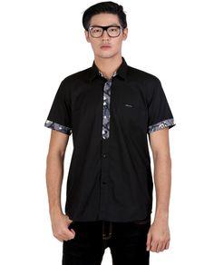 Baju kemeja terbaru 085697680786 kemeja pria panjang murah Polo Shirt Pria Cotton 2015 GSS5219