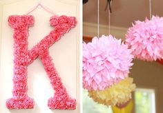 Kate HAS to have this K for her birthday!!! Great for decorating her room after her birthday too!!