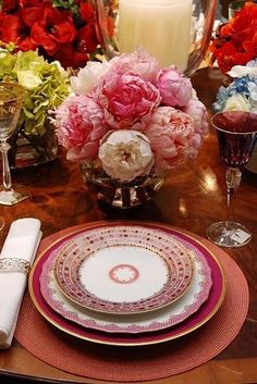 Lovely place setting...
