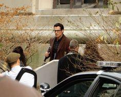 Henry Cavill on set of Batman v Superman: Dawn Of Justice in Detroit, Michigan (September 2, 2014)