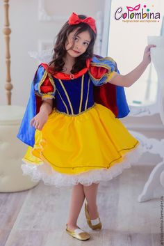Костюм Белоснежки-156 - купить или заказать в интернет-магазине на Ярмарке Мастеров | карнавальный костюм Белоснежки для девочки<br /> …