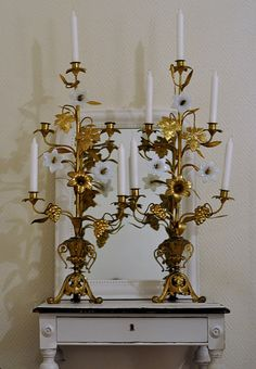 French church candelabra