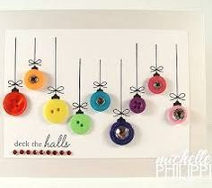 button crafts christmas - Google Search